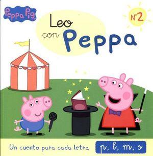PEPPA PIG -LEO CON PEPPA NO.2-