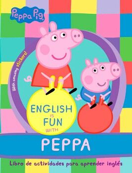 PEPPA PIG -ENGLISH IS FUN WITH PEPPA- (ACT. P/APRENDER INGLES)