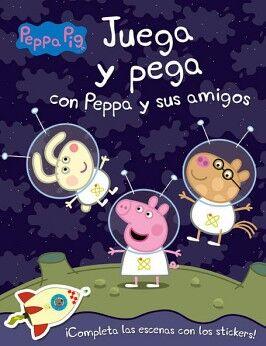 PEPPA PIG -JUEGA Y PEGA CON PEPPA Y SUS AMIGOS-