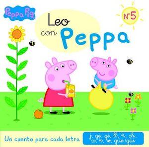 PEPPA PIG -LEO CON PEPPA NO.5-