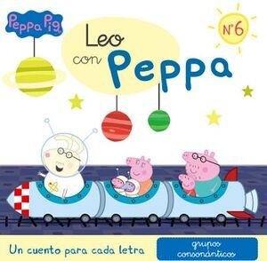 PEPPA PIG -LEO CON PEPPA NO.6-