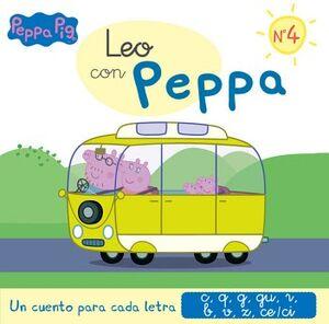 PEPPA PIG -LEO CON PEPPA NO.4-