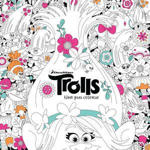 TROLLS -LIBRO PARA COLOREAR-
