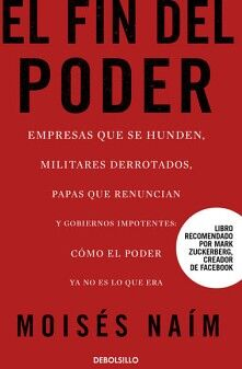 FIN DEL PODER, EL                   (DEBOLSILLO)