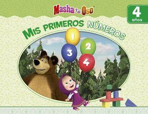 MASHA Y EL OSO -MIS PRIMEROS NUMEROS-  (4 AÑOS)