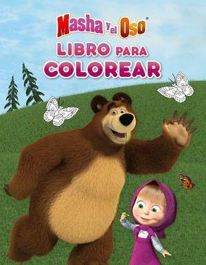 MASHA Y EL OSO -LIBRO P/COLOREAR-