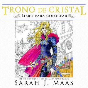 TRONO DE CRISTAL -LIBRO PARA COLOREAR-