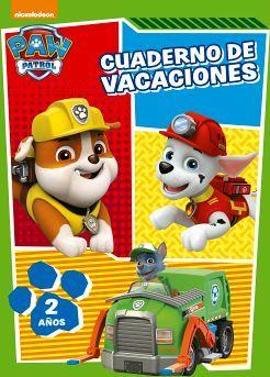 CUADERNO DE VACACIONES -PAW PATROL- (2 AÑOS)