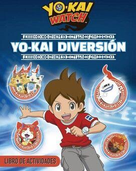 YOKAI WATCH -YOKAI DIVERSION-             (LIBRO DE ACTIVIDADES)