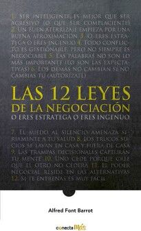 12 LEYES DE LA NEGOCIACION O ERES ESTRATEGA O ERES INGENUO