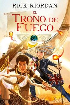 TRONO DE FUEGO, EL                   (NOVELA GRAFICA)