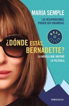 DONDE ESTAS, BERNADETTE?            (PORTADA PELICULA/DEBOLSILLO)