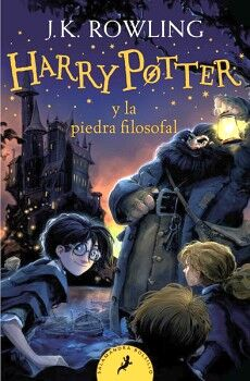 HARRY POTTER (1) -Y LA PIEDRA FILOSOFAL-  (RUSTICO/BOLSILLO)