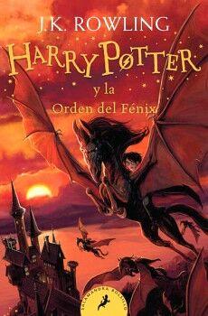 HARRY POTTER (5) -Y LA ORDEN DEL FENIX-   (RUSTICO/BOLSILLO)