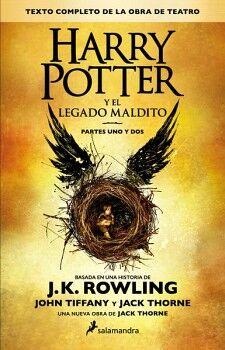 HARRY POTTER Y EL LEGADO MALDITO -PARTE 1 Y 2- (RUSTICO)