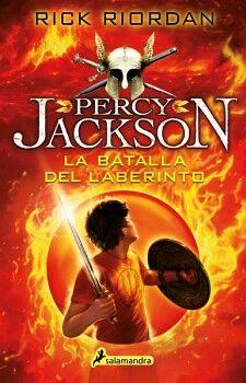 PERCY JACKSON (4) -LA BATALLA DEL LABERINTO-