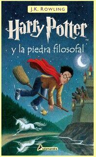 HARRY POTTER (1) -Y LA PIEDRA FILOSOFAL-  (EMPASTADO)