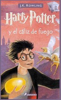 HARRY POTTER (4) -Y EL CALIZ DE FUEGO-    (EMPASTADO)