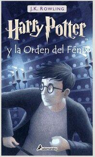 HARRY POTTER (5) -Y LA ORDEN DEL FENIX-   (EMPASTADO)