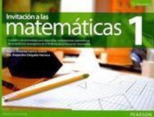 INVITACION A LAS MATEMATICAS 1 SEC. 3ED. CUAD.TRAB. (NVA.ED.)