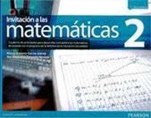 INVITACION A LAS MATEMATICAS 2 SEC. 3ED. CUAD.TRAB. (NVA.ED.)
