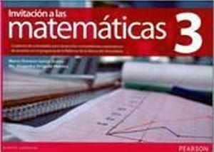 INVITACION A LAS MATEMATICAS 3 3ED. CUAD.TRAB. (NVA.ED.)