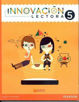 INNOVACION LECTORA 5TO. PRIM.
