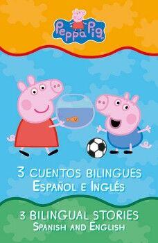 PEPPA PIG. LIBRO DE CUENTOS BILINGUES
