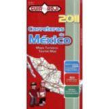 MAPA TURISTICO DE CARRETERAS DE MEXICO