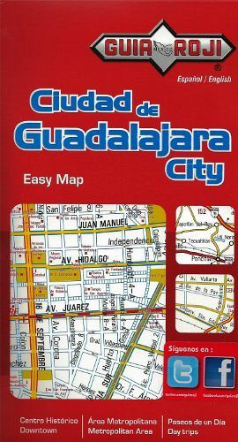 CIUDAD DE GUADALAJARA CITY EASY MAP