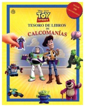 TESORO DE LIBROS DE CALCOMANIAS -TOY STORY-