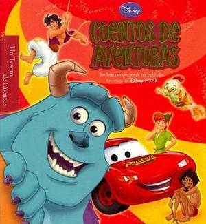DISNEY -CUENTOS DE AVENTURAS-   (UN TESORO DE CUENTOS)