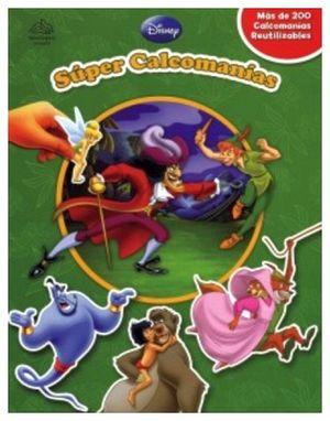 SUPER CALCOMANIAS -DISNEY-