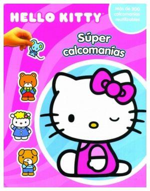 SUPER CALCOMANIAS -HELLO KITTY-