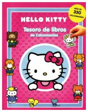 TESORO DE LIBROS DE CALCOMANIAS -HELLO KITTY-