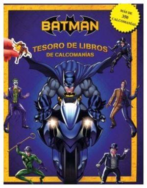 TESORO DE LIBROS DE CALCOMANIAS -BATMAN-
