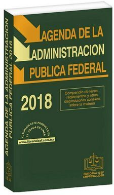 AGENDA DE LA ADMINISTRACION PUBLICA FEDERAL 2018