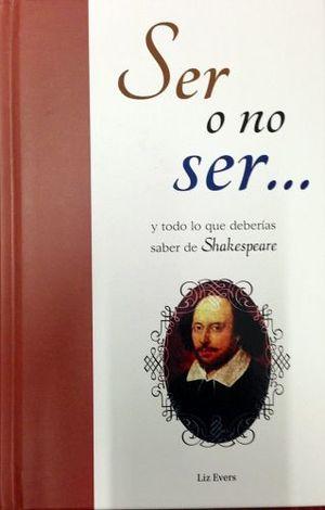 SER O NO SER   -COL. DTP/EMPASTADO-