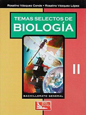 TEMAS SELECTOS DE BIOLOGIA II  BACH.GRAL.
