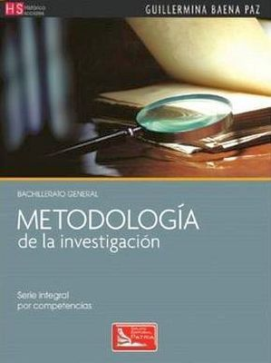 METODOLOGIA DE LA INVESTIGACION (DGB/S.INTEGRAL COMPETENCIA