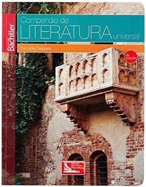 COMPENDIO DE LITERATURA UNIVERSAL 4ED. (S.BACHILLER/DGIRE)      .