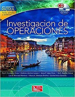 INVESTIGACION DE OPERACIONES -SERIE UNIVERSITARIA PATRIA- C/CD