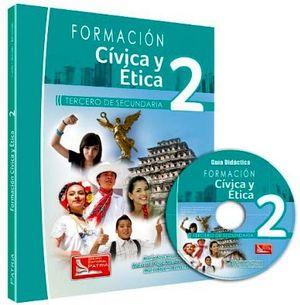 FORMACION CIVICA Y ETICA 2 P/3RO. SEC. 2ED.