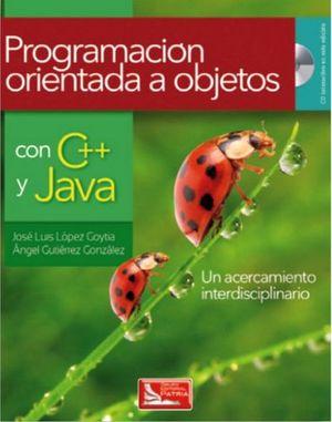 PROGRAMACION ORIENTADA A OBJETOS CON C++ Y JAVA C/CD
