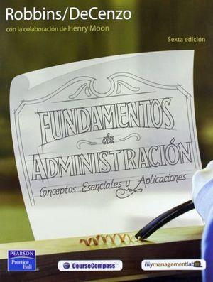 FUNDAMENTOS DE ADMINISTRACION 6ED.