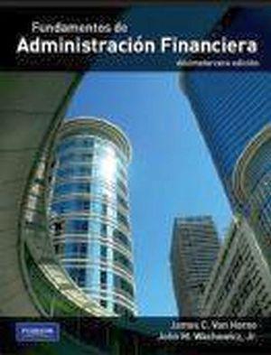 FUNDAMENTOS DE ADMINISTRACION FINANCIERA 13ED.