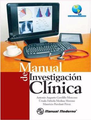 MANUAL DE INVESTIGACION CLINICA