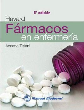 FARMACOS EN ENFERMERIA 5ED  -HAVARD-