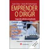 EMPRENDER O DIRIGIR 2ED.