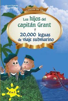 HIJOS DEL CAPITAN GRANT Y 20 000 LEGUAS DE VIAJE SUBMARINO